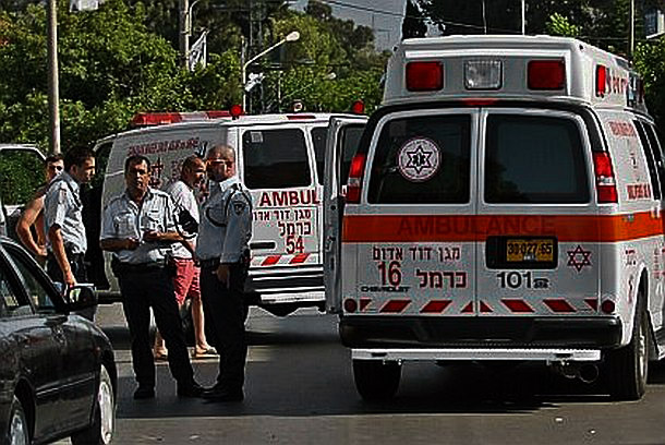אמבולנסים ומשטרה (צילום ארכיון)