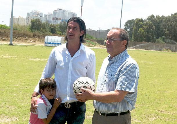מעולה ג'ובאני רוסו משיק בית ספר לכדורגל בקרית ים | חדשות חיפה-קריות QV-38