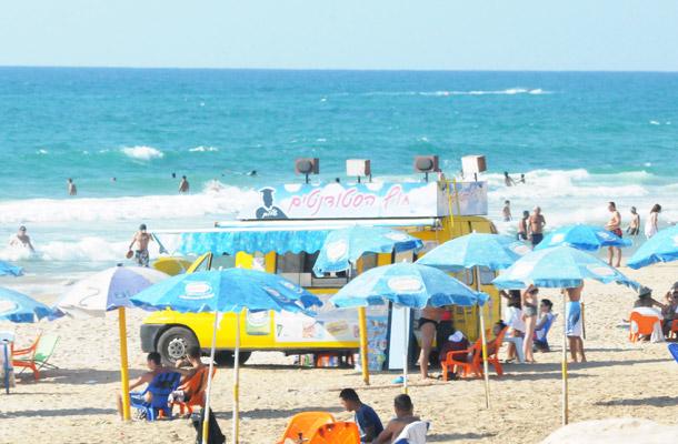חוף הסטודנטים, חיפה (צילום ארכיון: עמרי שטיין)
