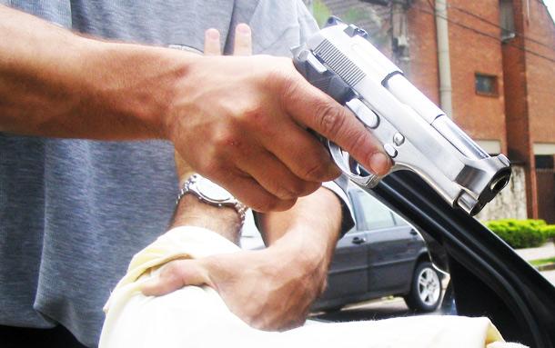 אקדח (אילוסטרציה)