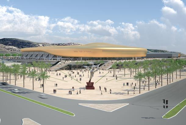 אצטדיון סמי עופר (הדמיה)