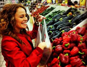 סופרמרקט, קניות, ירקות (ארכיון)