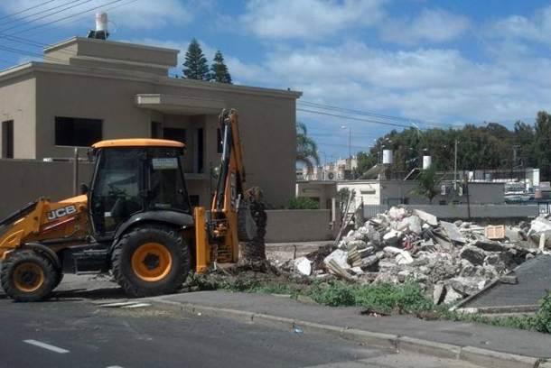 הבית נהרס. צילום: איריס שני