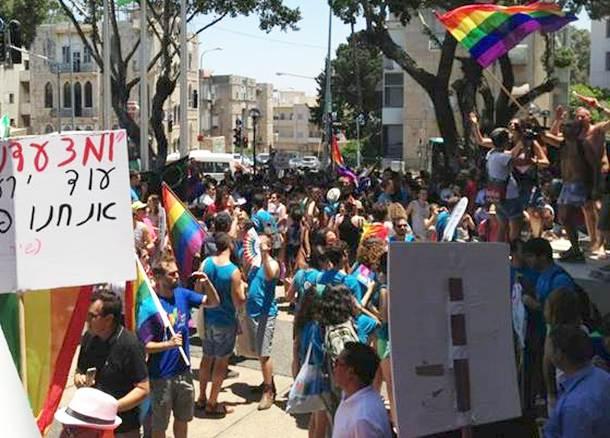 מצעד הגאווה בחיפה (צילום: שי אבוחצירה)