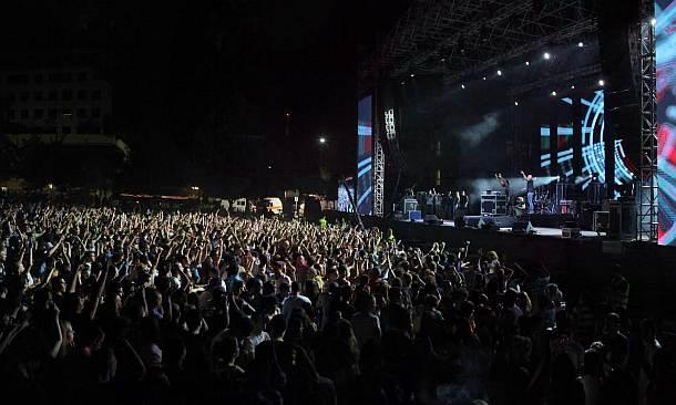 פסטיבל הסטודנט המשותף של אגודות הסטודנטים באוניברסיטת חיפה ובטכניון (צילום: קובי תמשס)