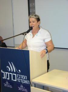 """יו""""ר וועד מחוז חיפה בלשכת עורכי הדין עו""""ד תמי אולמן"""