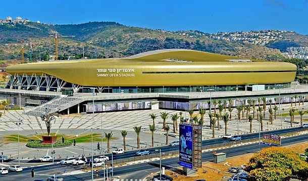 אצטדיון סמי עופר בחיפה. צילום צבי רוגר